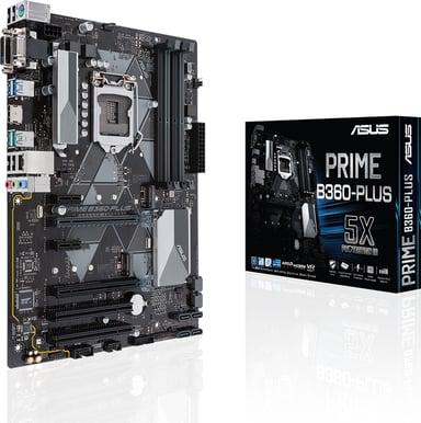 ASUS Prime B360-Plus ATX Emolevy