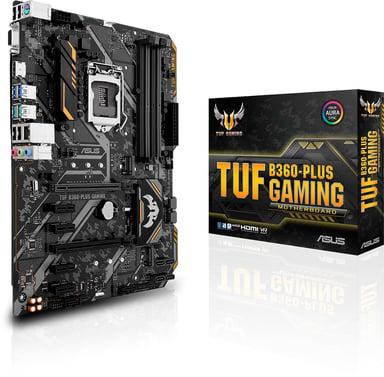 ASUS TUF B360-Plus Gaming ATX Bundkort