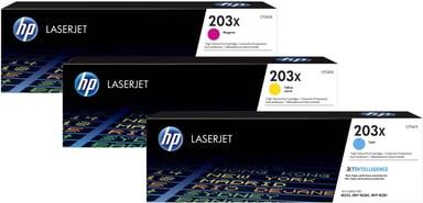 HP Toner Kit (C/M/Y) 203X 2.5K - CLJ Pro M254/M280