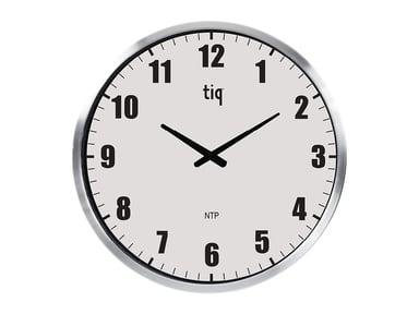 Ketonic Tiq Veggklokke NTP/PoE 500mm Sølv