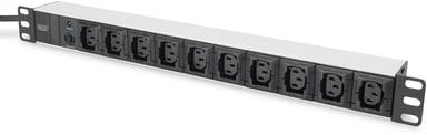 Digitus DN-95404 Grendosa för rack 10st Ström IEC 60320 C13