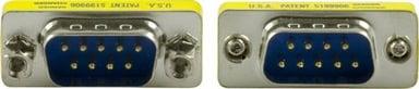 Deltaco Seriel gender changer 9-pin D-Sub (DB-9) Han 9-pin D-Sub (DB-9) Han