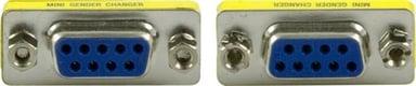 Deltaco Seriell hann-hunnveksler 9-pin D-Sub (DB-9) Hunn 9-pin D-Sub (DB-9) Hunn