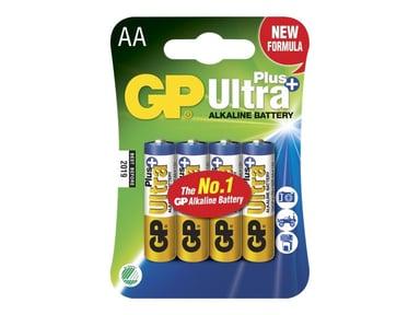 GP Power Batteri Ultra Plus Alkaline 4st AA/LR6