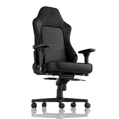 Noblechairs Hero Læder Gaming Stol - Sort