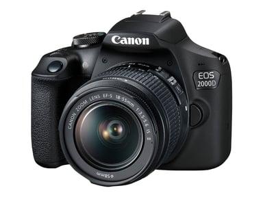 Canon EOS 2000D + 18-55 f/3.5-5.6 IS II
