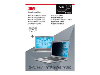 """3M Sekretessfilter till bärbar dator med widescreen 14tum 14"""" 16:9"""