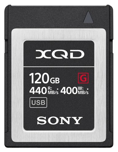 Sony Sony Xqd Card G Series 120Gb null