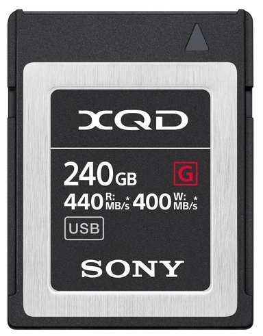 Sony Xqd Card G Series 240GB 240GB XQD minneskort