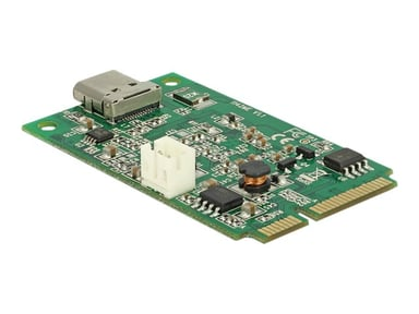 Delock Mini PCIe I/O PCIe full size 1 x USB Type-C 3.1 Gen 2