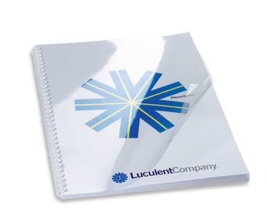GBC Binding Cover HiClear A5 240mic 100pcs