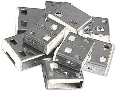 Lindy USB Port Blocker White 10-pack without key