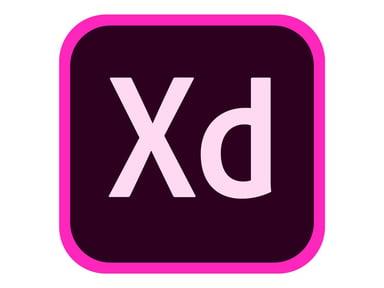 Adobe XD CC for Teams 1 år Team Licensing Subscription New
