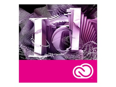 Adobe InDesign CC for teams 1 vuosi Team Licensing Subscription New