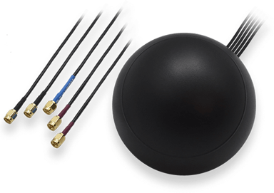 Teltonika 003R-00253 Mobile/GNSS/WiFi Roof SMA Antenna null