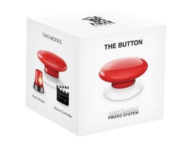 Fibaro FGBHPB-101-3 The Button Homekit Röd