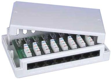 Direktronik 8 port Nettverksboks