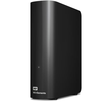 WD Elements Desktop 6Tt 6Tt Musta
