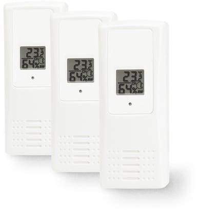Telldus Temperatur- och fuktighetssensor 433MHz 3-Pack