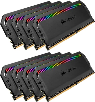 Corsair Dominator Platinum RGB 64GB 64GB 3,600MHz DDR4 SDRAM DIMM 288-pin
