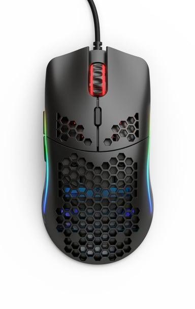 Glorious PC Gaming Race Model O Matte 12,000dpi Mus Kabelansluten Svart