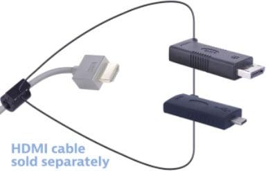 Liberty Av Solutions Digitalinx HDMI Adapter Ring - Dl-Ar6922 DisplayPort USB-C Hona HDMI Hona Svart