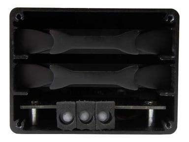 """Startech Externt USB 3.1-kabinett (10Gbps) för två 2,5"""" SATA-enheter"""