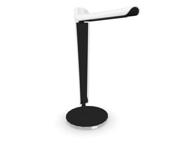 Götessons Tulip LED Pöytävalaisin 8W USB Laturilla Valkoinen/Musta