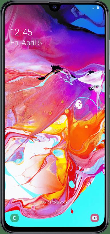 Samsung Galaxy A70 128GB Dual-SIM Zwart