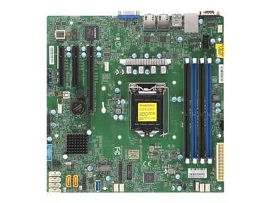 Supermicro X11SCL-F Micro ATX Moderkort