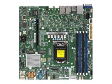 Supermicro X11SCM-F Mikro ATX Hovedkort