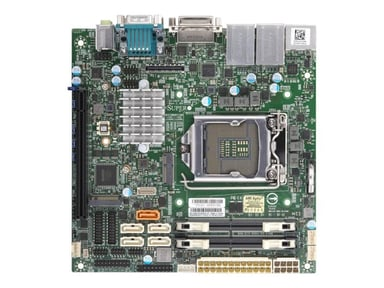 Supermicro X11SCV-Q Mini ITX Emolevy