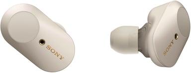 Sony WF-1000XM3 Trådløse støydempende hodetelefoner med mikrofon Sølv