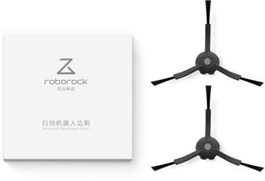 Roborock Sivuharja -  S5 Musta- 2kpl