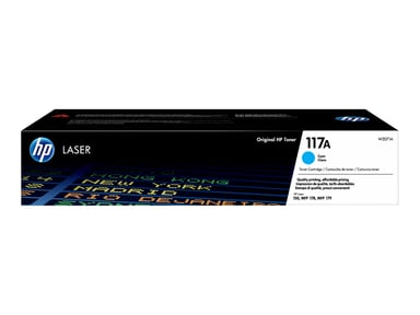 HP Toner Cyan 117A 700 Pages - CL 150A/150Nw/178Nw/179Fnw
