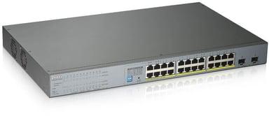 Zyxel GS1300-26HP Surveillance PoE Switch 250W