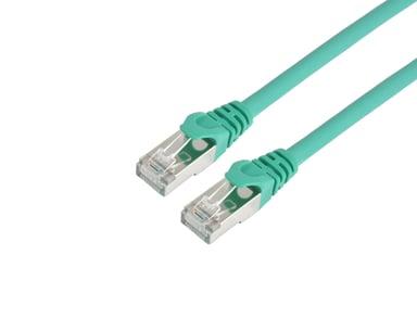 Prokord TP-Cable S/FTP RJ-45 RJ-45 CAT 6a 20m Vihreä