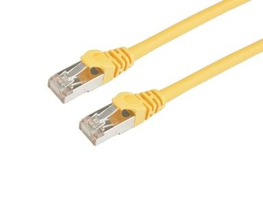 Prokord TP-Cable S/FTP RJ-45 RJ-45 CAT 6a 10m Keltainen