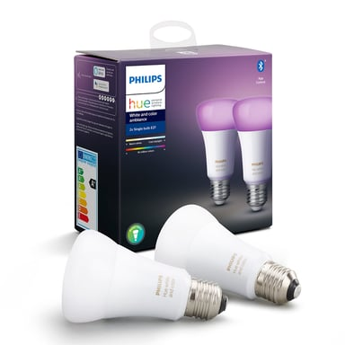 Philips Hue White/Color E27 2-Pack