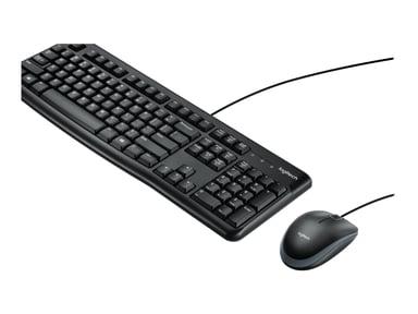 Logitech Desktop MK120 Met bekabeling International NSEA