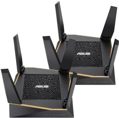 ASUS RT-AX92U AiMesh AX6100 WiFi 6 Router 2-pack