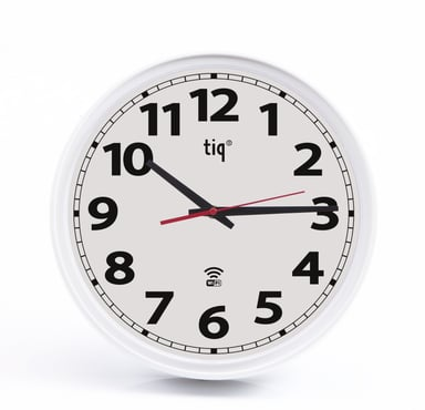 Ketonic Tiq Wall Watch WiFi Plastic 348mm White