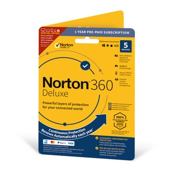 NortonLifeLock Norton 360 Deluxe - Superpris null