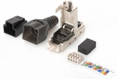 Microconnect Kontaktdon CAT6A FTP RJ45 Tool-Free