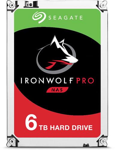 "Seagate IronWolf Pro 6TB 3.5"" Serial ATA-600"