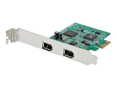 Startech 2-poorts 1394a PCI Express FireWire-kaart