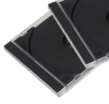 Fellowes CD Jewel Case cd-hylster for lagring