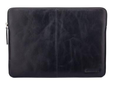 """dbramante1928 Skagen Pro - 15"""" Laptop/MacBook Pro 16"""" Black 15"""" - 16"""""""" 16"""" Aitoa intialaista nahkaa"""