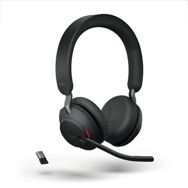 Jabra Evolve2 65 MS USB-A Headset Sort