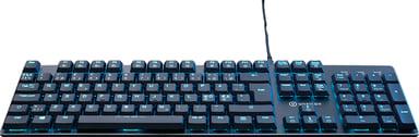 Voxicon Gaming Keyboard Gr8-9 Kabelansluten Nordiska länderna